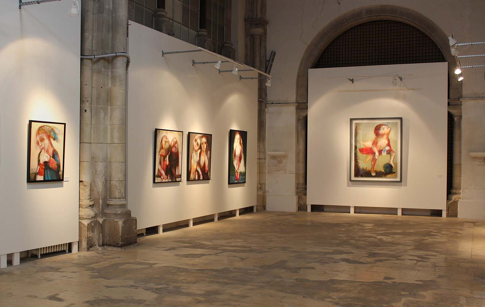 LE PARFUM DES SAISONS - Chapelle des Dames Blanches, Ville de la Rochelle, 2015