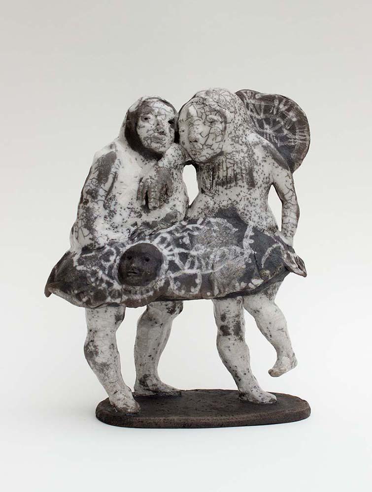 EEE06 vueA - Céramique, Osmose(s) #2 - 30x24x11cm