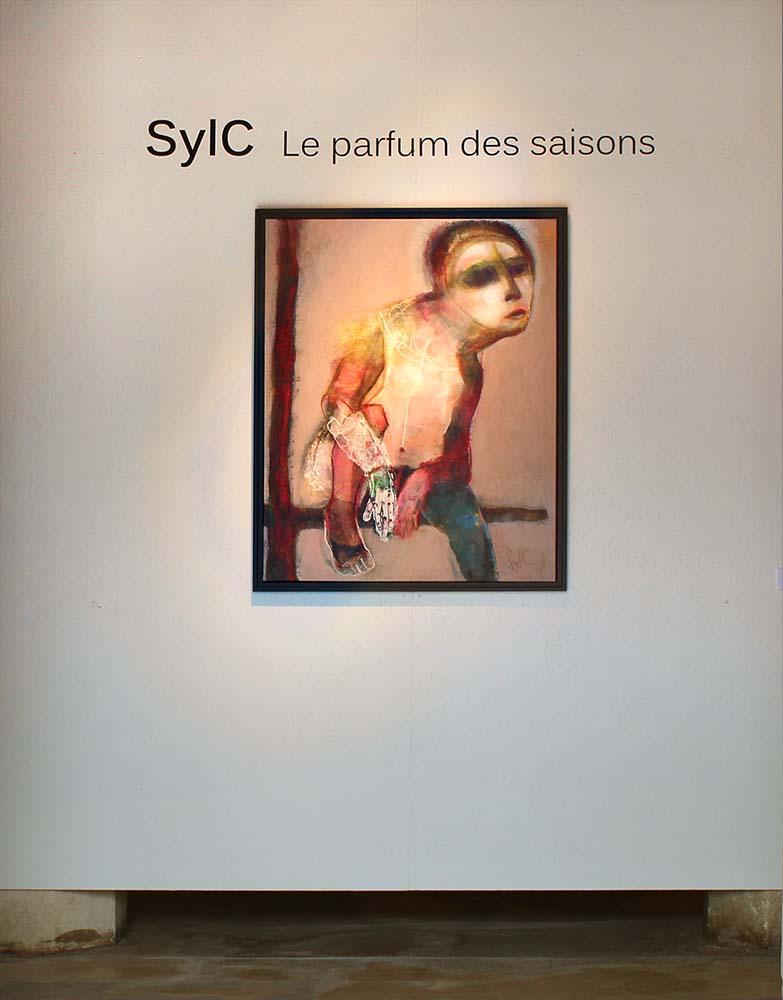 LE PARFUM DES SAISONS - Vue d'exposition, Chapelle des Dames Blanches, Ville de la Rochelle, 2015