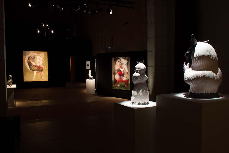 AVEC OU SANS CAVALIER - Centre Ianchelevici, Ville de Maisons Laffitte - 2019