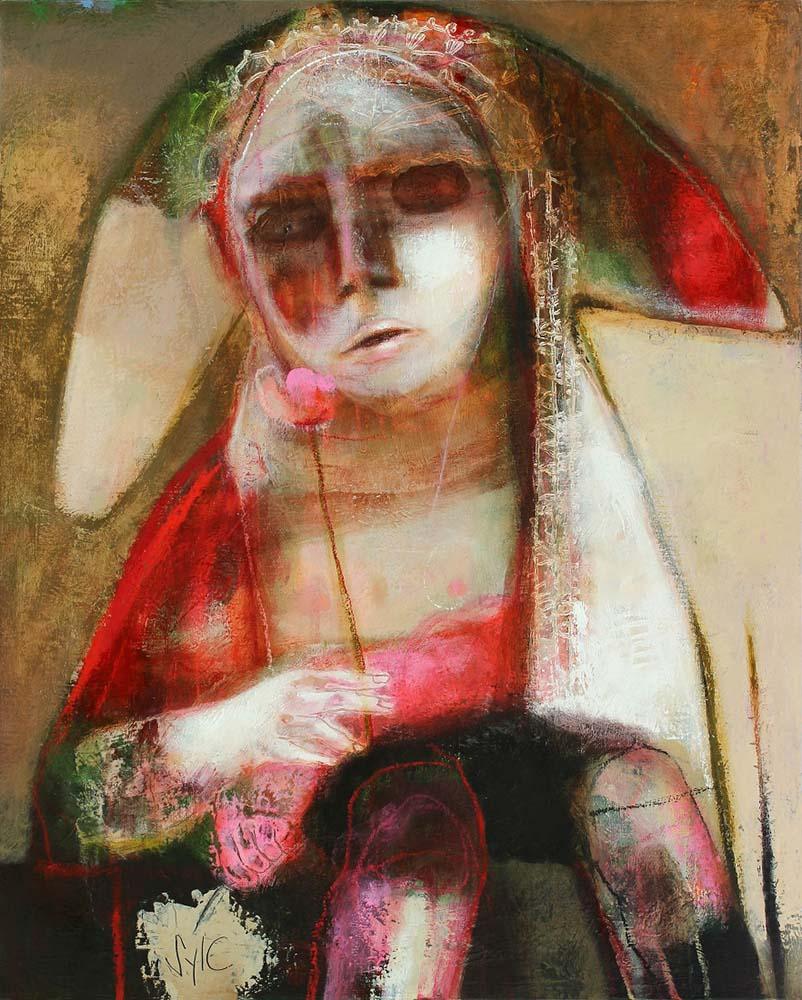 LE PARFUM DES SAISONS (II), 2013 - Acrylique & pastel à l'huile sur toile, 81x65cm